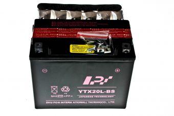 Batteri 12V 18Ah,  L173 x B82 x H152  YTX20L-BS (LPI)