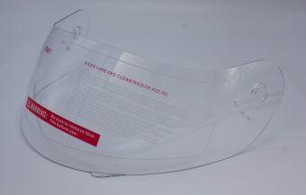 Visir transparent integralhjälm