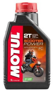 Motul 12x1L Scooter Power 2T olja helsyntet