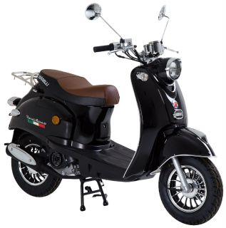 Viarelli Retro-50 Svart 45km/h zn (Euro 5 klass 1 moped)