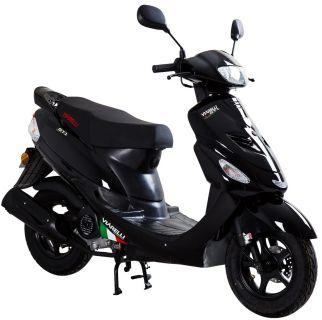 Viarelli GT1 Svart 45km/h zn (Euro 5 klass 1 moped)