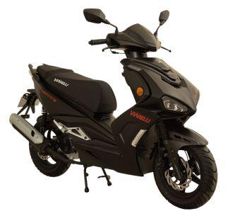 Viarelli Monztro Röd/svart 45km/h (Euro 5 klass 1 moped)