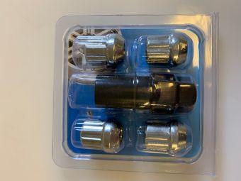 Låsbara hjulmuttrar 4st M10x1,5