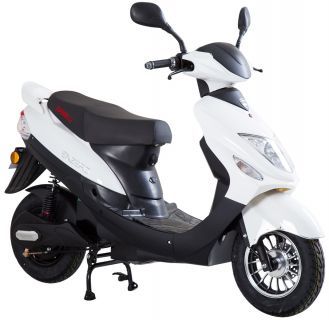 Viarelli Enzero Vit/Svart 25km/h electric BOSCH (klass 2 moped)