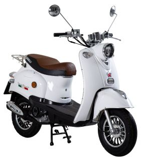 Viarelli Retro-50 Vit 45km/h zn (Euro 5 klass 1 moped)