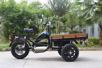 MGB Delivery Svart 2*1500W framhjulsdriven